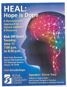 Hope is Dope @ Penn State Shenango Sharon Hall Auditorium