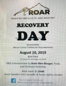 ROAR RECOVERY DAY